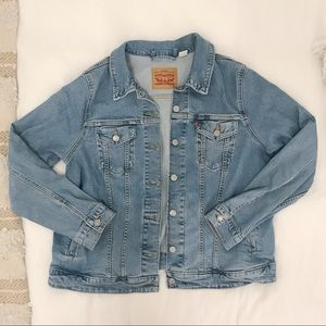 Levi's oversize denim jacket